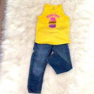 Toddler top and 👖